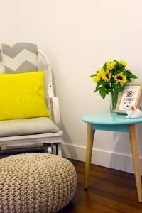 Chair stool pouf