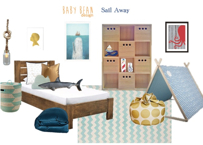 Nautical Big Boys Room