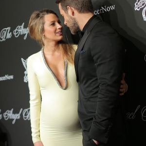 Blake Lively and Ryan Reynolds - source pop sugar.com